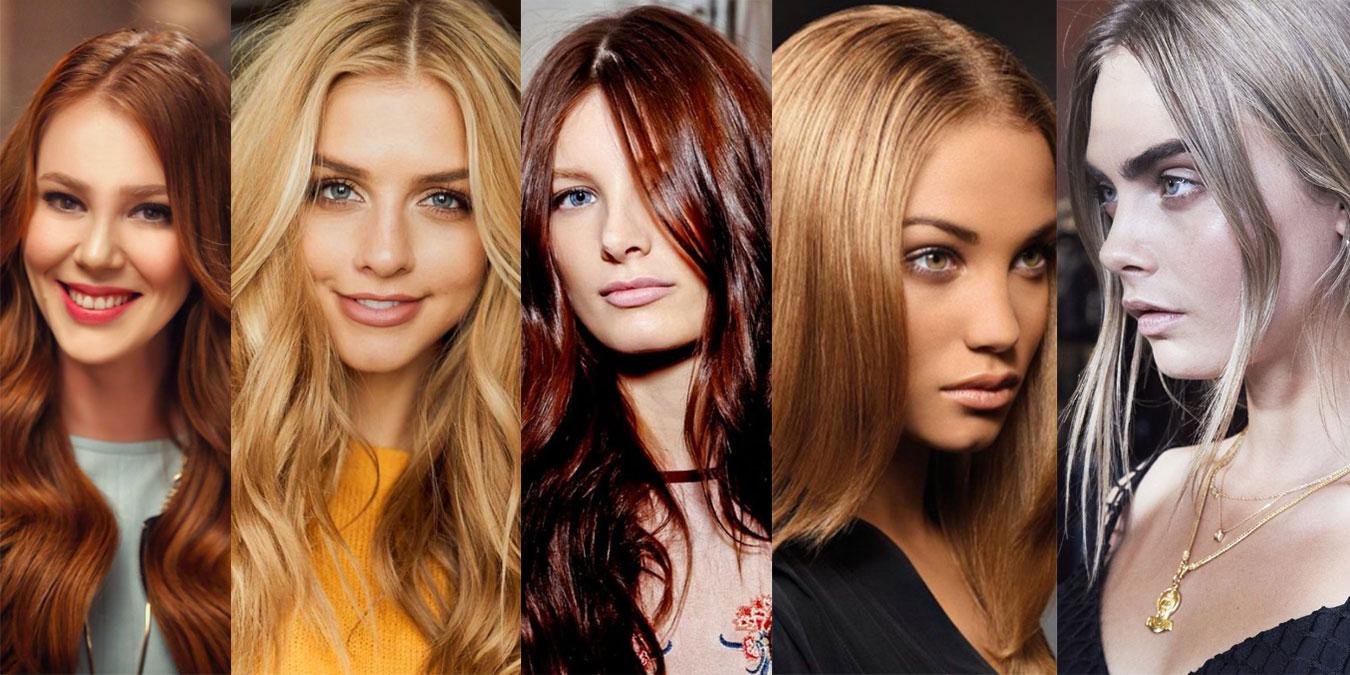 kadın saç rengi
